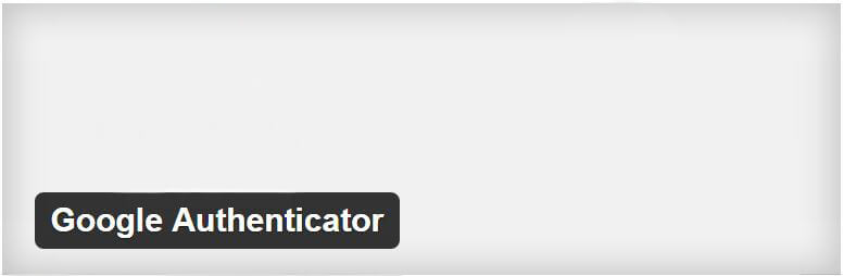 Plugin Google Authenticator