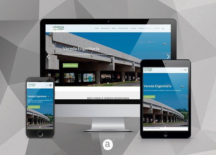 Website Vereda Engenharia