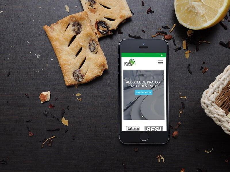 Website Kadu Festas - Marketing Digital e Inbound Marketing em BH