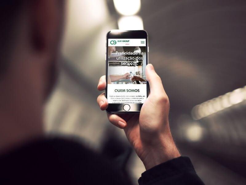 Criação de Website Qui!Group - Marketing Digital e Inbound Marketing em BH