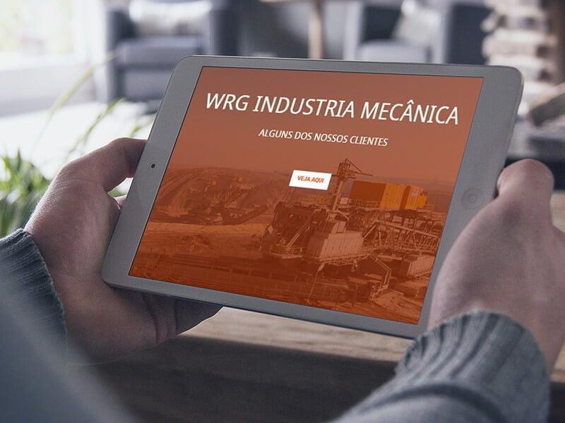 WRG Usinagem - Marketing Digital e Inbound Marketing em BH
