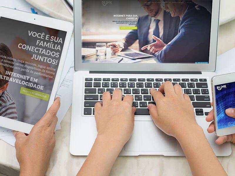 Website Blink Telecom | Assoweb | Criação de sites para provedores ISP - Marketing Digital e Inbound Marketing em BH