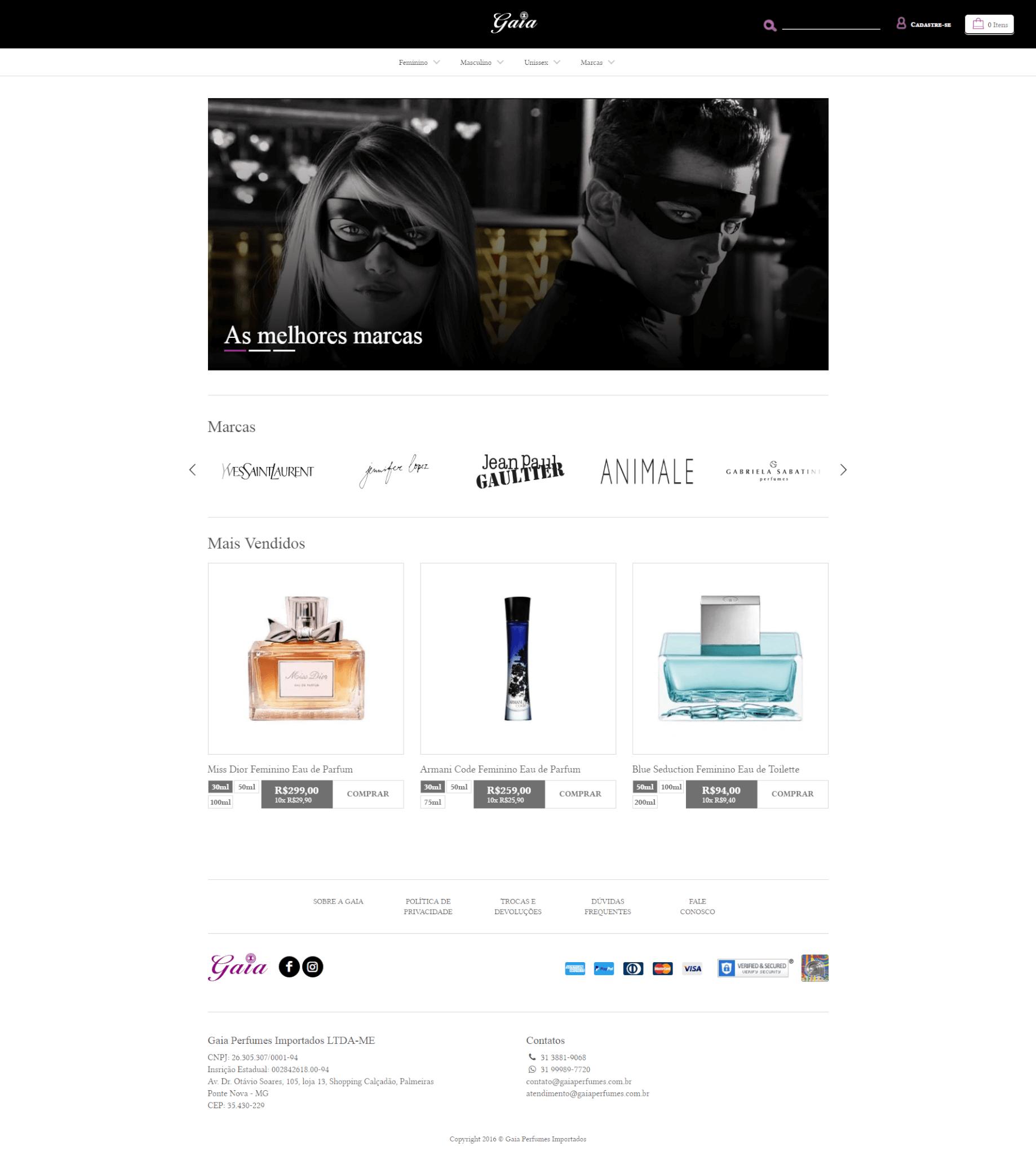 Gaia Perfumes