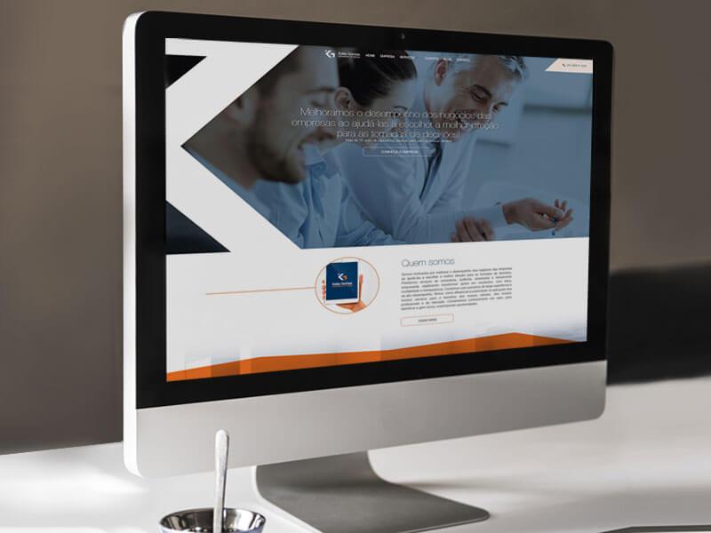 Website personalizado Kátia Gomes - Marketing Digital e Inbound Marketing em BH