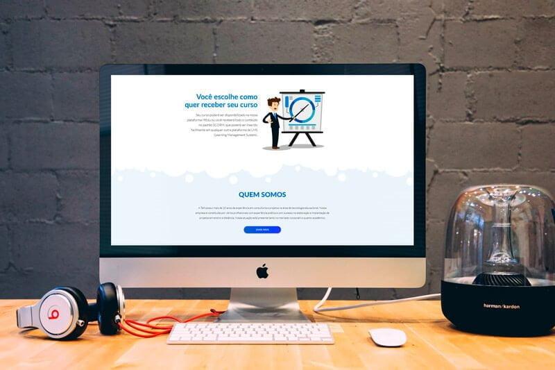 Mockup Talli - Marketing Digital e Inbound Marketing em BH