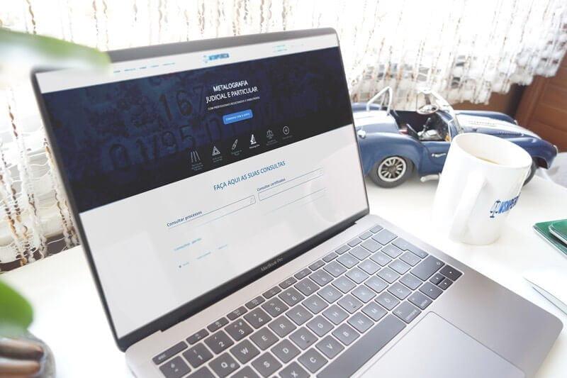 Mockup WSN Perícia - Marketing Digital e Inbound Marketing em BH