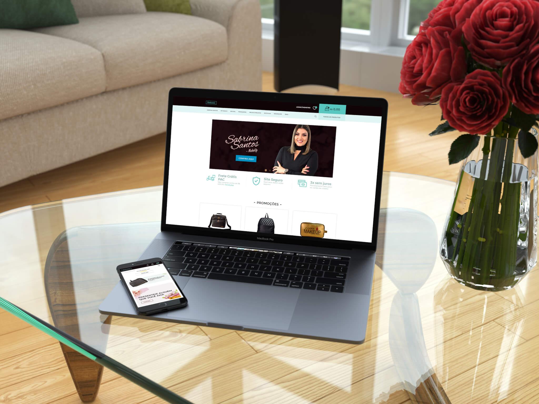 Moockup Ebolsas BH - Marketing Digital e Inbound Marketing em BH