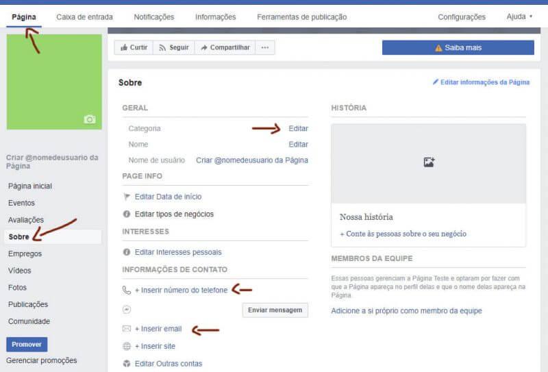 Informações sobre a empresa Facebook