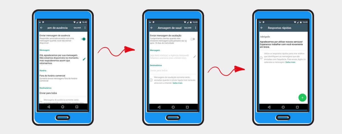 ferramentas de mensagens para o whatsapp business