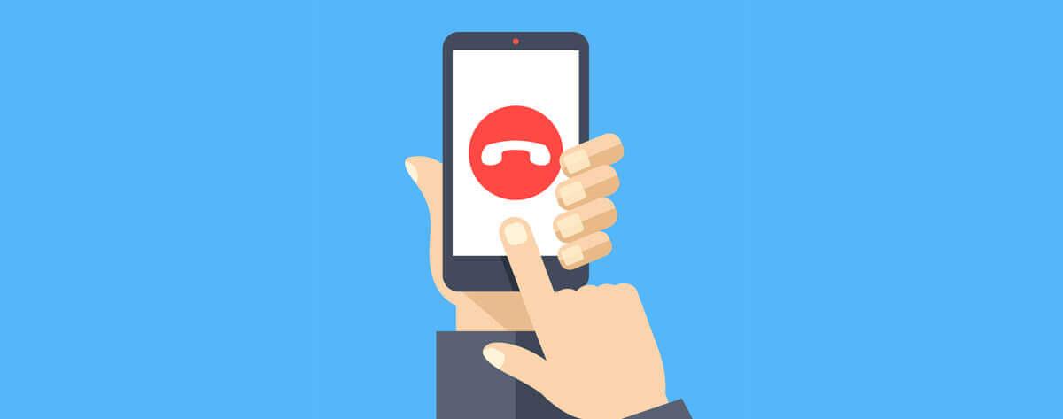 ligação indesejada telemarketing desconhecido | Como criar uma lista de email