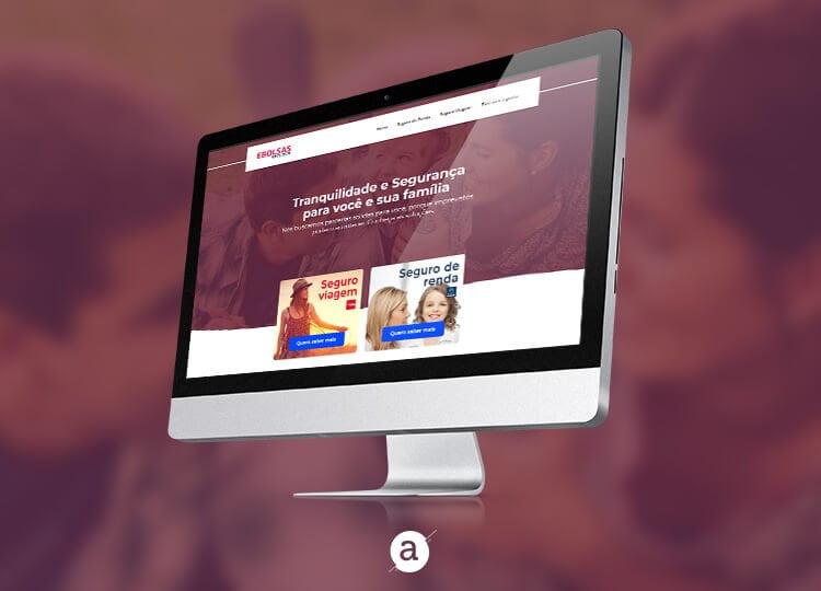 Imagem Principal Ebolsas Seguros - Marketing Digital e Inbound Marketing em BH