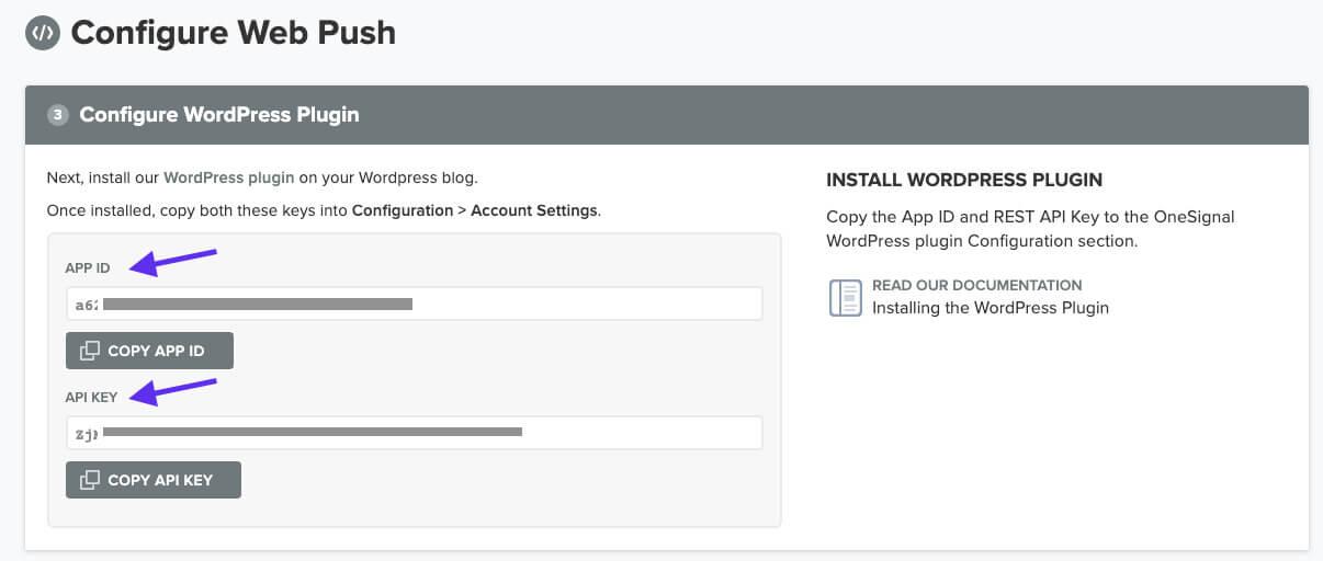 Configurando o Web Push